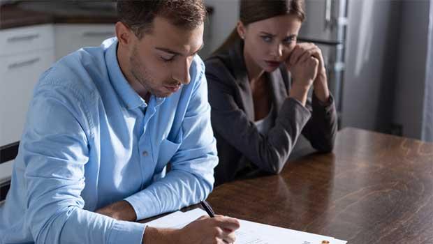Těžký rozvod manželů