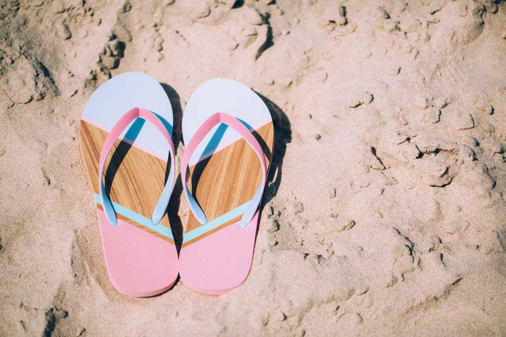 Letní dámské sandály a žabky