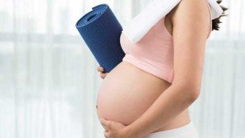 Těhotná žená